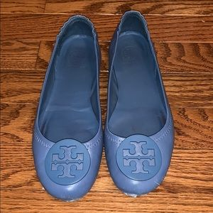 Tory Burch Minnie travel ballet shoes